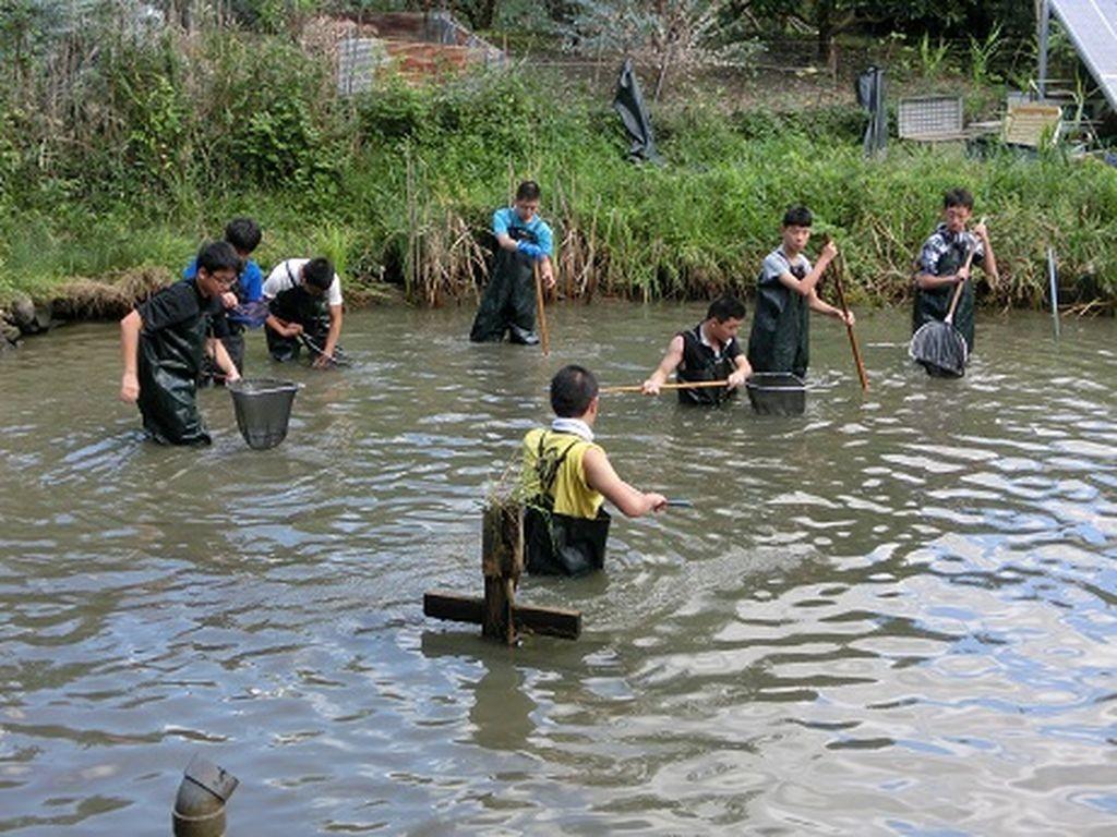 保護池活動
